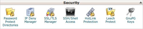 SSH shell access